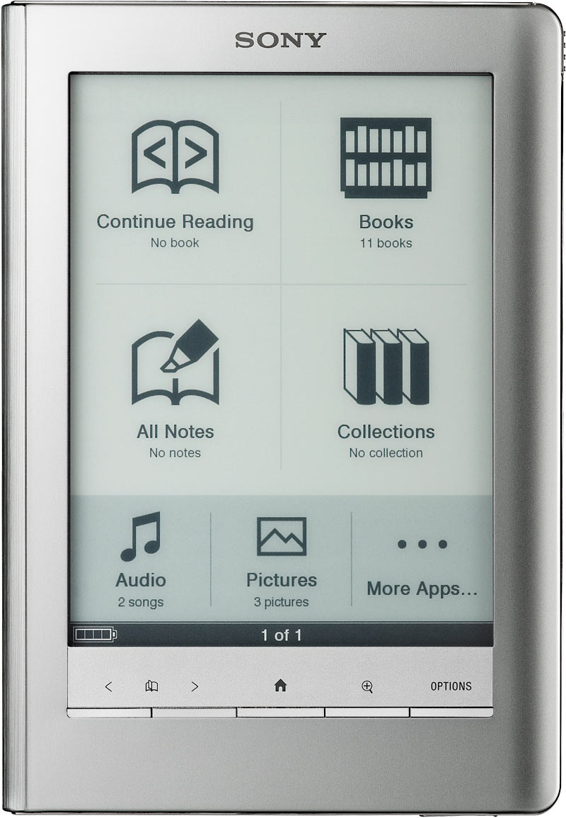 Kindle Vs Sony Reader: Justin The Librarian VS EBook Readers