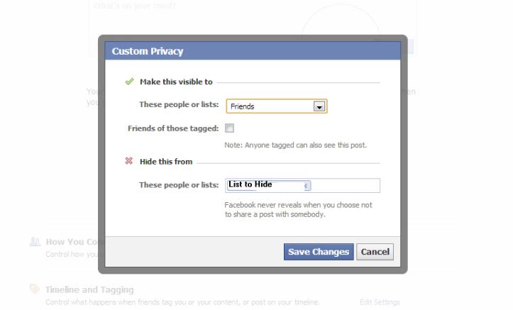 FB privacy