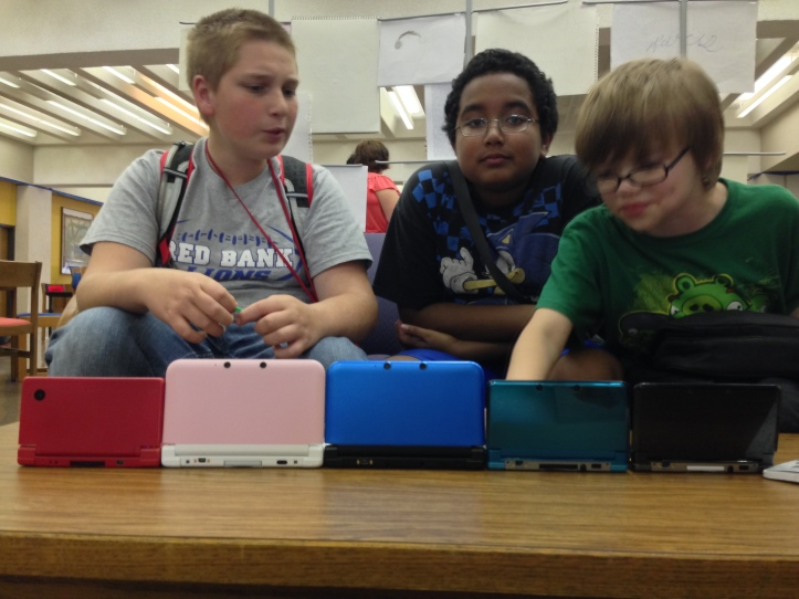 At the end of the day we all busted out our Nintendo 3DS systems and shared information, became friends, and more!