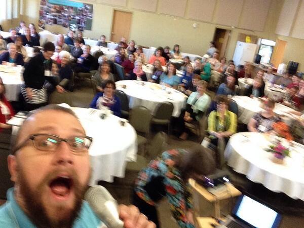 Marigold Keynote Selfie!