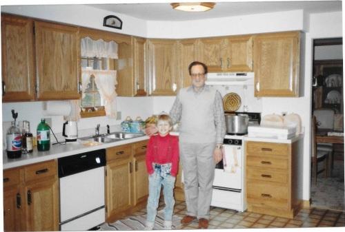 Pap Pap Pleczynski. I wish I had a photo with Pap Hoenke. I don't think I do.