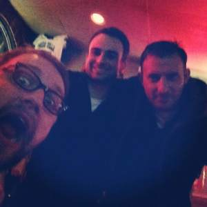 Me, Dillon Bates (who is now a Maine State Representative), and Marko Petrovich, February 2013.