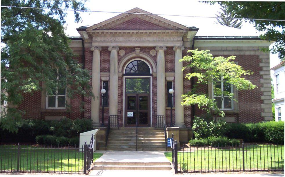 Benson-Memorial-Library